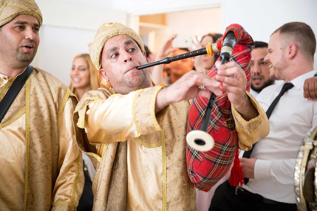 Arab with Bagpipe