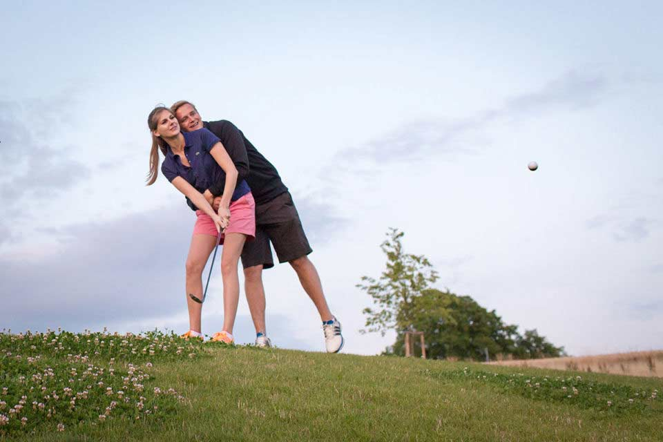 After Wedding Shooting – Golfplatz