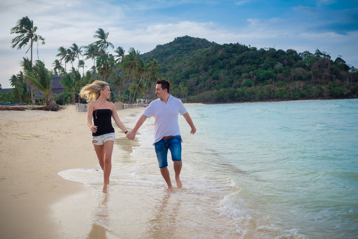 Marina and Timon – After Wedding Shooting Phi Phi Island